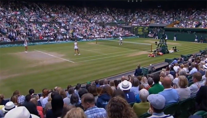 Turneringen Wimbledon går det att spela på